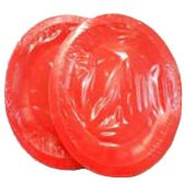 96 Units of Wholesale 12CT 9INCH ROUND RED PAPER PLATES