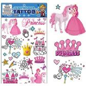 200 Units of PRINCESS TEMPORARY TATTOOS. - Tattoos and Stickers