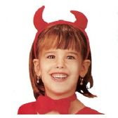 48 Units of 3 PIECE CHILDREN'S DEVIL COSTUME ACCESSORIES. - Novelty Toys