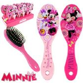48 Units of DISNEY'S MINNIE'S BOW-TIQUE HAIR BRUSHES. - Hair Brush