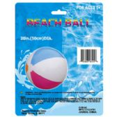 72 Units of Inflatable Multi-color Beach Ball - SUMMER TOYS