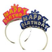 1200 Units of PAPER BIRTHDAY TIARAS - Party Favors