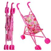 16 Units of Plastic Dolls Strollers