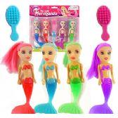 48 Units of 6 PIECE MERMAID DOLL PLAYSETS.