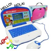 16 Units of BI-LINGUAL LEARNING LAPTOP. - Educational Toys