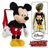 8 Units of PLUSH DISNEY'S MICKEY MOUSE BACKPACKS. - Backpacks 17""