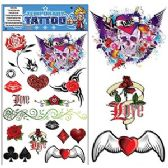 200 Units of GOTHIC TEMPORARY TATTOOS - Tattoos and Stickers