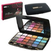 96 Units of 24 COLOR EYE SHADOW PALETTES w/ MIRROR. - Eye Shadow