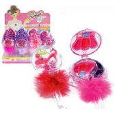 192 Units of FEATHER LIP GLOSS PALETTES WITH MIRROR AND APPLICATOR. - Lip Gloss