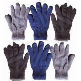 48 Units of Wholesale 10 MENS KNIT 100 GRAM GLOVES - Winter Gloves