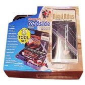 10 Units of Wholesale ROADSIDE EMERGENCY KIT 30PCS
