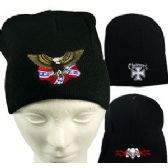 36 Units of MOTORCYCLE KNIT CAPS. - Winter Beanie Hats