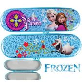 48 Units of DISNEY'S FROZEN SISTERS FOREVER METAL PENCIL BOXES - Pencil Boxes & Pouches