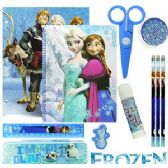 12 Units of DISNEY'S FROZEN 11-PIECE VALUE PLAYPACKS - School Supply Kits