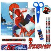 12 Units of SPIDERMAN 11-PIECE VALUE PLAYPACK - School Supply Kits