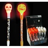 144 Units of LIGHTUP HALLOWEEN PENS - Halloween & Thanksgiving