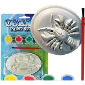 36 Units of 3D OCEAN WORLD PAINT KITS - Craft Kits