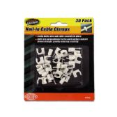 72 Units of Nail-in Cable Clamps - Drills and Bits