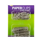 144 Units of Standard & Jumbo Paper Clips Set - CLIPS/FASTENERS