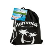 6 Units of Nylon Hammock in Carrying Bag - Bags Of All Types