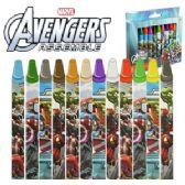 48 Units of JUMBO AVENGERS CRAYONS - Chalk,Chalkboards,Crayons