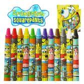 48 Units of JUMBO SPONGEBOB SQUAREPANTS CRAYONS - Chalk,Chalkboards,Crayons