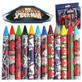 48 Units of JUMBO SPIDERMAN CRAYONS - Chalk,Chalkboards,Crayons