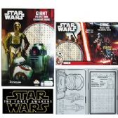 24 Units of STAR WARS GIANT PUZZLE AND COLORING BOOKS - Coloring & Activity Books