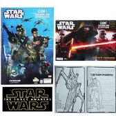 24 Units of STAR WARS GIANT COLORING AND ACTIVITY BOOKS - Coloring & Activity Books