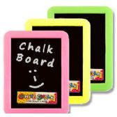 72 Units of PLASTIC CHALKBOARD SETS - CHALK,CHALKBOARDS,CRAYONS
