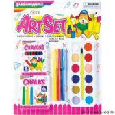 48 Units of Rainbow World Art Set - Art Paints