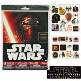 24 Units of STAR WARS TEMPORARY TATTOOS - Tattoos and Stickers
