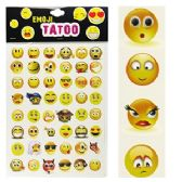 300 Units of EMOJI TEMPORARY TATTOO SETS - Tattoos and Stickers