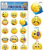 200 Units of EMOJI TEMPORARY TATTOOS - Tattoos and Stickers
