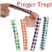 1152 Units of CHINESE FINGER TRAPS. - Novelty Toys