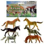 290 Units of VINYL HORSES - Animals & Reptiles