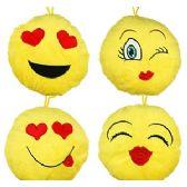 96 Units of PLUSH LOVE EMJOIS - Plush Toys