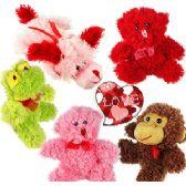 48 Units of MINI PLUSH LOVEY ANIMAL ASSORTMENTS - Plush Toys