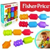 8 Units of FISHER PRICE SNAP LOCK BEADS. - Baby Toys