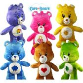 24 Units of PLUSH CARE BEAR COLLECTION