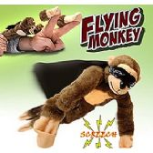 48 Units of FLINGSHOT FLYING MONKEYS W/SOUND