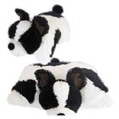 8 Units of PLUSH ZOOPURRPET OREO THE DOG PILLOWS. - Pillow Cases
