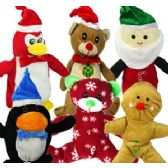 144 Units of PLUSH CHRISTMAS PRE-PACK ASSORTMENTS.