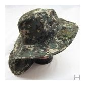 24 Units of Men's Camo Print Bucket Hat - Hunting Caps