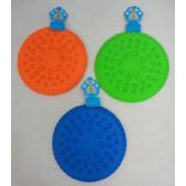"""24 Units of 9"""" Silicone Disk Pet Toy"""