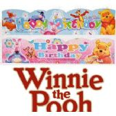 48 Units of DISNEY'S WINNIE THE POOH BIRTHDAY BANNERS - Party Banners