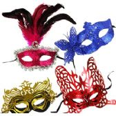 48 Units of PARTY MASK ASSORTMENT. - Party Favors