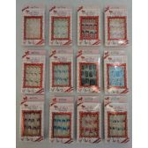 144 Units of Decorated Artificial Nail [French Tips] - Cosmetics