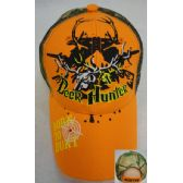 48 Units of Deer Hunter with Deer Skull [BORN TO HUNT on Bill] - Hats With Sayings