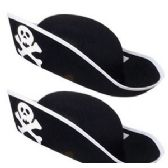 36 Units of ADULT PIRATE HATS